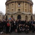 Le groupe devant la Radcliffe Camera